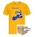 Italy T-Shirt, Football Forever FAN style, Gold