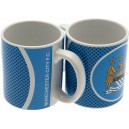 Official Authentic Mug Manchester City, Style