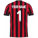Official authentic AC Milan Your Name Jersey 2017/18 Home