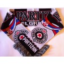 Official Authentic Partizan Belgrade Scarf